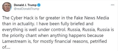 Consulados en Rusia, ciberataque Trump Pompeo