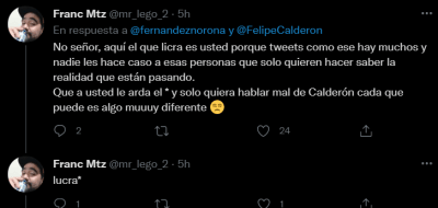 They come out in defense of Felipe Calderón after announcing the death of his nephew