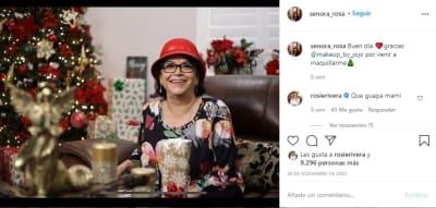 Doña Rosa tumba hija Jenni Rivera. 2