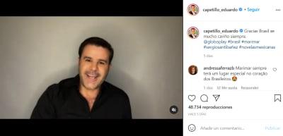 Eduardo Capetillo revela que tuvo cáncer de piel