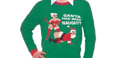 Sweaters de Santa con cocaína y en poses sexuales se retiran de Walmart