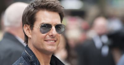 Tom Cruise arriving for the Rock Of Ages Premiere