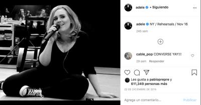 Adele (Instagram)