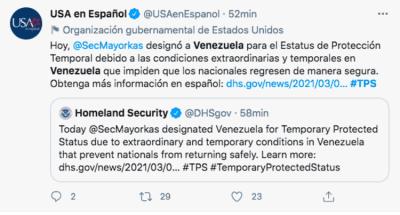 TPS venezolanos Biden