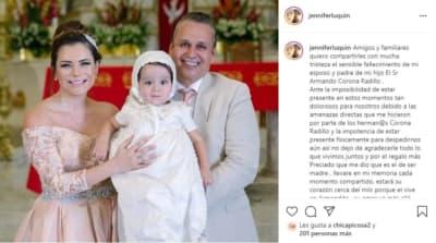 Se le muere esposo a actriz de Televisa