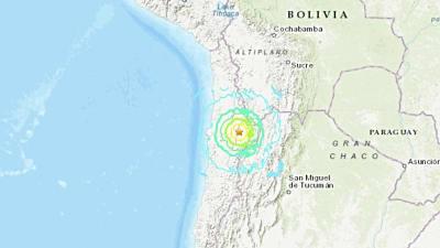 Sismo 6.8 sacude Chile