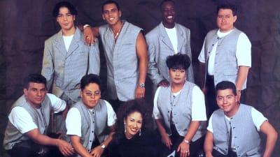 Selena Quintanilla y 'Los Dinos'