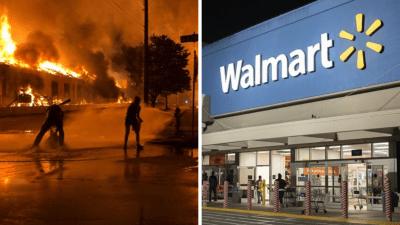 Walmart George Floyd: Retiran armas y municiones del piso de ventas