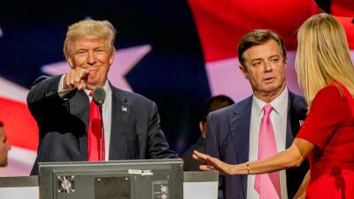 Trump Indulta exjefe campaña, Paul Manafort indultos