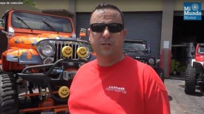 colección de jeeps