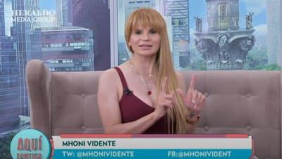 Mhoni Vidente revela que le mataron a su primer esposo y que fue secuestrada por narcos