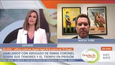 Abogado de Emma Coronel, Satcha Pretto, Jeffrey Lichtman, Chapo