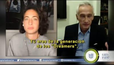 Hija de Jorge Ramos aparece en Despierta América y se confirman sospechas Paola Ramos