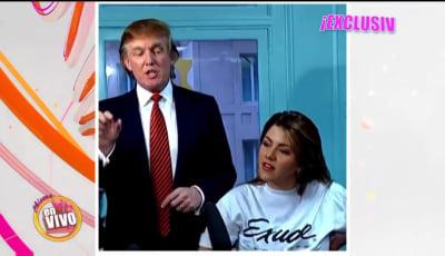 ¿Alicia Machado votará por Donald Trump en las próximas elecciones?