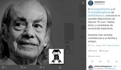 Muere Loco Valdés