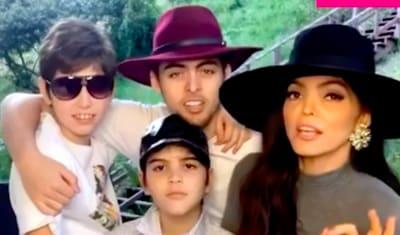 Hijos de la cantante (IG)