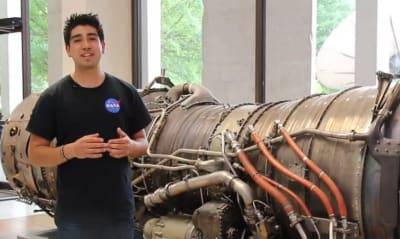 Sergio Sandoval colabora con la NASA