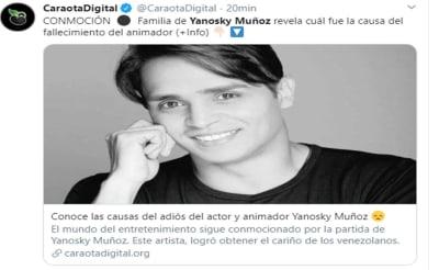 Muere animador venezolano