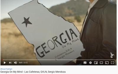 Se lanza versión spanglish de Georgia on my mind para motivar al voto latino Las Cafeteras Elecciones Senado