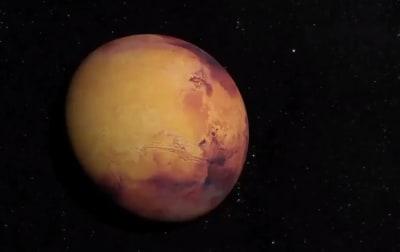 Revelan imagen de un cráter en Marte muy original (FOTOS)