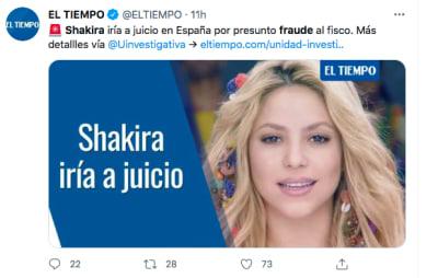 Shakira fraude y ella baila en vestidito