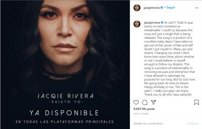Jacqie hija Jenni Rivera