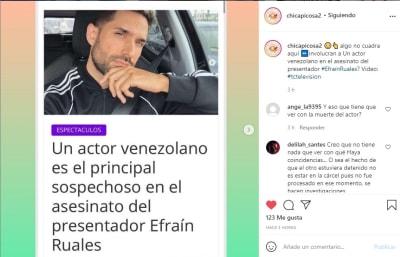 Miguel Tovar sospechoso asesinato Efraín Ruales 2