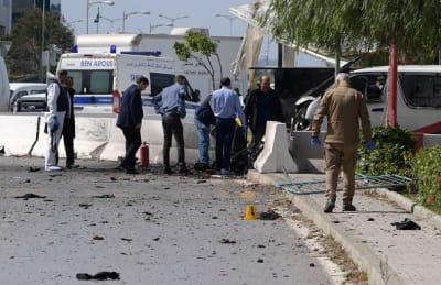 Terrorista se inmola cerca de la embajada de EE. UU. en Túnez y deja 5 heridos