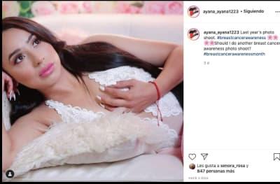 Ayana Rivera lencería 1