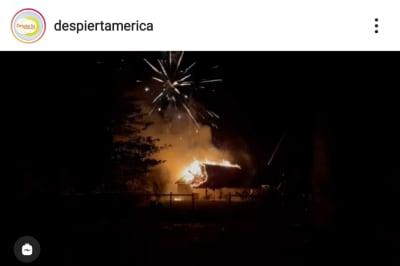 Incendio provocado por fuegos artificiales afecta la casa del cantante Drizmali en Miami