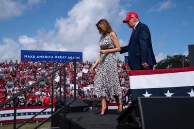 ¿Fin del matrimonio de Trump y Melania?