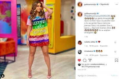 Galilea Montijo bikini 2 redes sociales