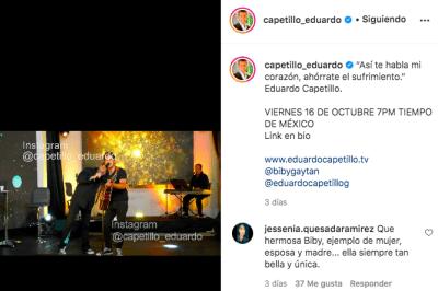 Eduardo Capetillo cuenta verdad Biby Gaytán