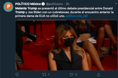 Melania Trump debate