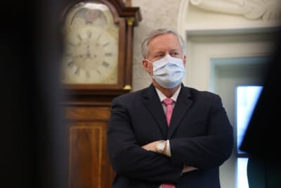 Casa Blanca controlar pandemia Mark Meadows COVID-19
