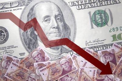 ¿A cuánto está el cambio del dólar a peso mexicano el 27 de diciembre y por qué?