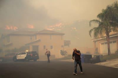 Incendios en California fotos