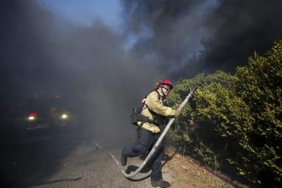 California: Nuevos incendios alentados por fuertes vientos ponen en jaque al estado