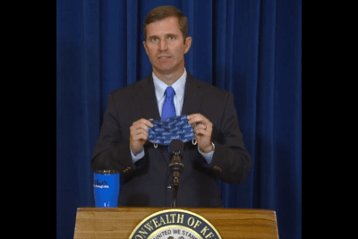 Uso obligatorio de mascarillas en el estado de Kentucky