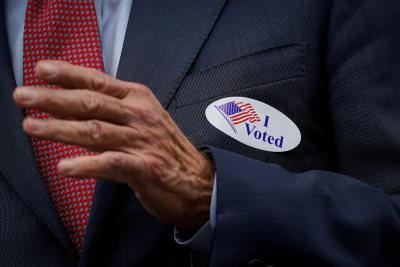 Joe Biden vota