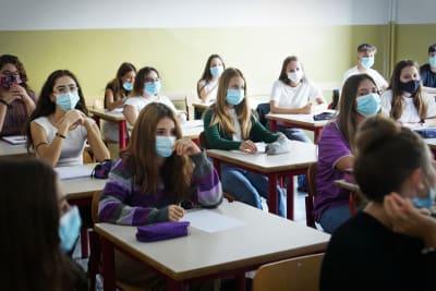 Nueva York escuelas coronavirus, casos coronavirus, COVID-19