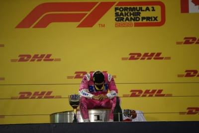 Sergio ChecoPérez gana, Fórmula Uno, Gran Premio de Sakhir