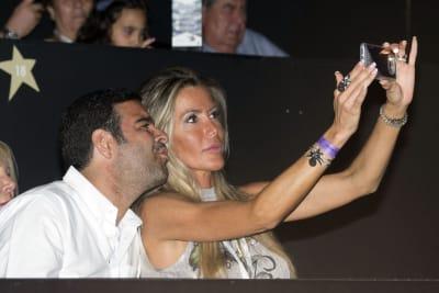 Raquel-Bernal-And-Pablo-Montero-Attend-Miguel-Bose