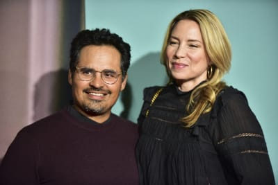 Michael-Pena-and-Brie-Shaffer-attend-the-premiere-of-Lionsgates-Jexi