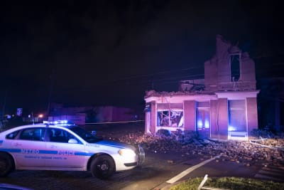tornado en Nashville