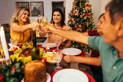 Recomendaciones mesa Navidad para que sea lo más segura posible