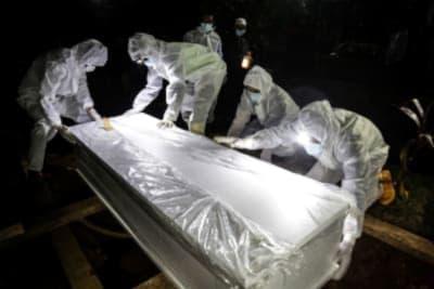 Biden ceremonia muertos coronavirus
