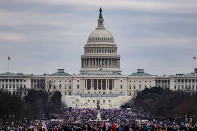 Ivanka Trump Protestas, Biden Capitolio, Trump capitolio