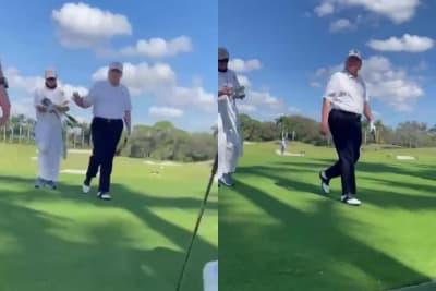 Trump Reaparece Jugando Golf, Trump Kevin McCarthy