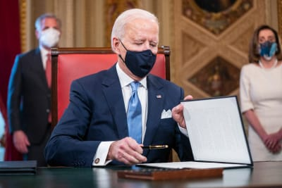 Republicanos Cheque Biden, estímulo